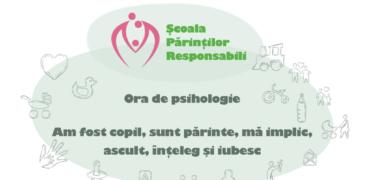 Ora de Psihologie- seminar gratuit pentru părinți