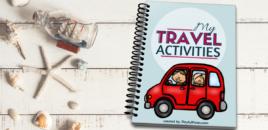 Inspirație pentru călătoriile cu mașina: un ebook cu activități pentru copii