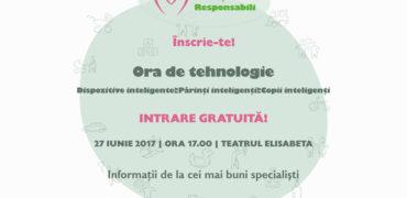 Au început înscrierile la Ora de Tehnologie! Seminar gratuit pentru părinții responsabili