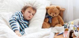Cel mai greu pentru o mamă este atunci când copilul este bolnav