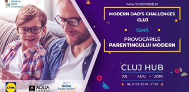 """Modern Dad's Challenges"" ajunge la Cluj"