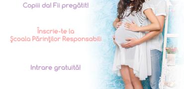 Aștepți un copil? Vino la Școala Părinților Responsabili, seminar gratuit în București