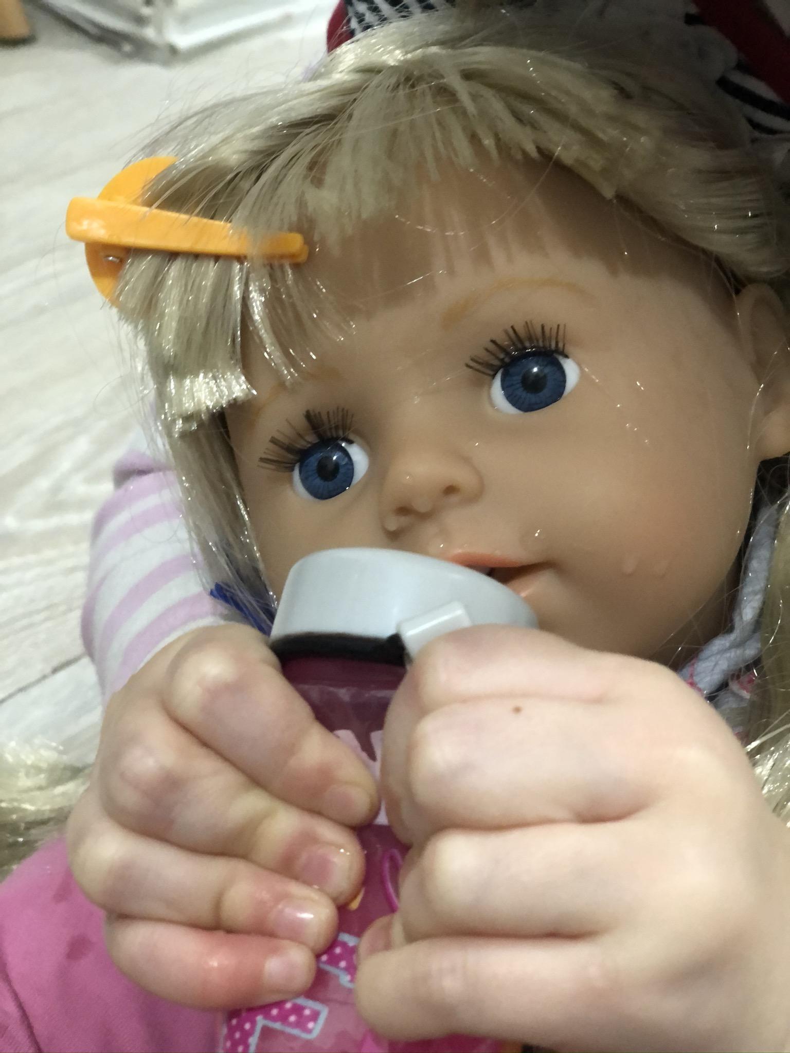 Papusa bebelus interactiva Zapf