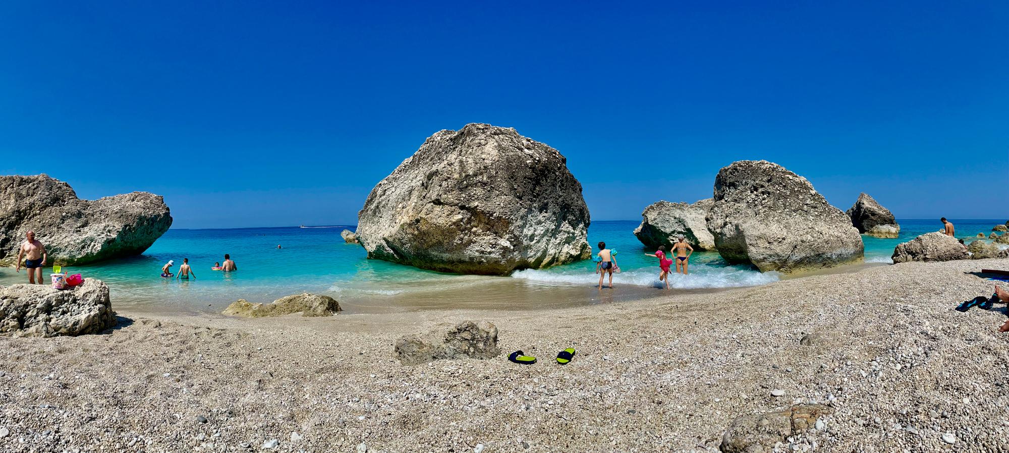 Plajă în Lefkada