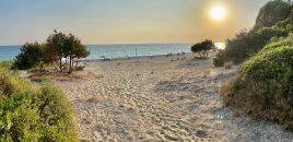 Cu rulota în Epir, la Marea Ionică